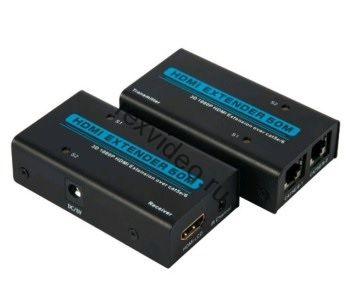 Комплект передачи HDMI сигнала по витой паре на 50 метров
