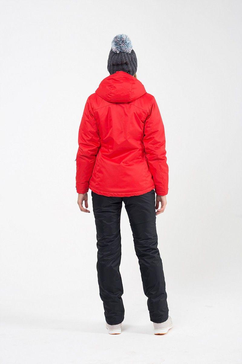 Зимний женский костюм красный 560-07  HEIDEN вид3