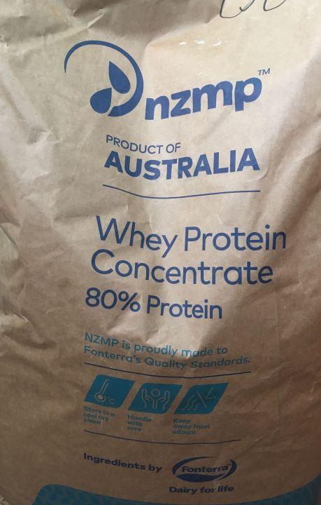 Fonterra NZMP WPC 80 - концентрат cывороточного белка (КСБ) 80%