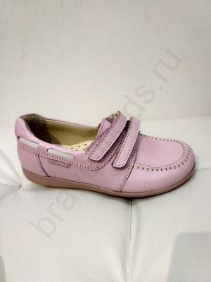 082 Ortopedia Туфли (31-36) в розовом цвете