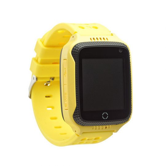 Умные детские часы Smart Baby Watch T7 (GW500S), цвет желтый