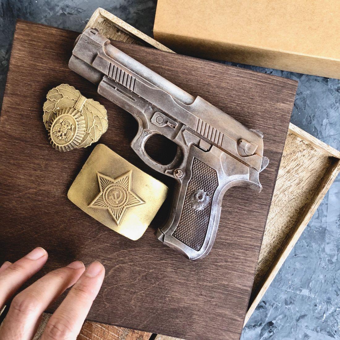 Набор Пистолет и бляха