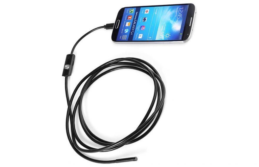 Эндоскоп для смартфонов на Android и ПК