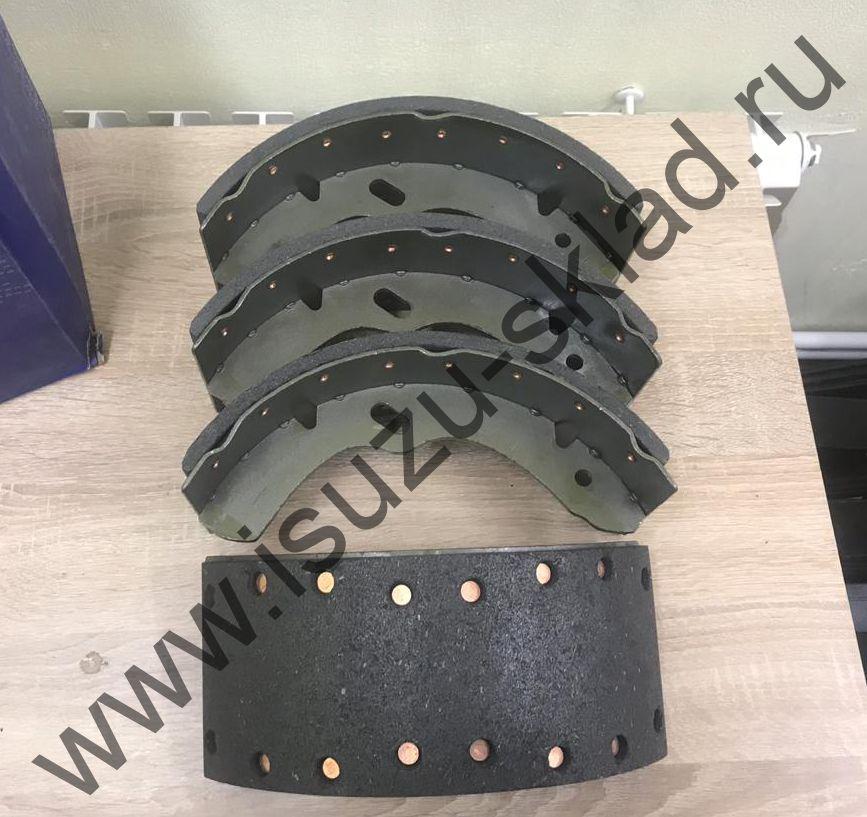 Колодки тормозные задние/передние барабанные NQR71 / NQR75 / NPR75 / Богдан