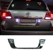 Хромированная накладка под номер (Тип Lexus) для Toyota Land Cruiser 200