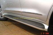 Аэродинамические пороги (Тип 1) для Toyota Land Cruiser 200