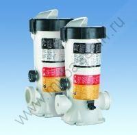 Полуавтоматический дозатор хлора, брома или кислорода In Line/Off Line