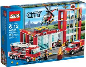 Lego City 60004 Пожарная часть #
