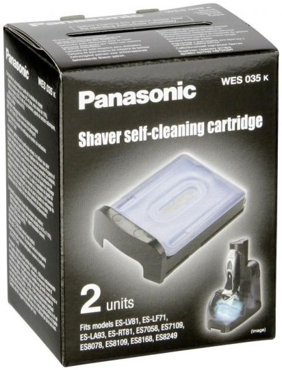 Картридж самоочистки бритв Panasonic WES035K