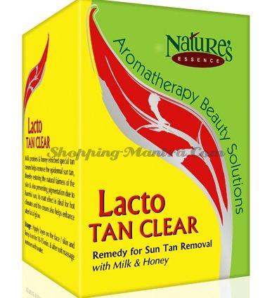 Осветляющий крем после загара Молочные протеины / Nature's Essence Lacto Tan Cleanser