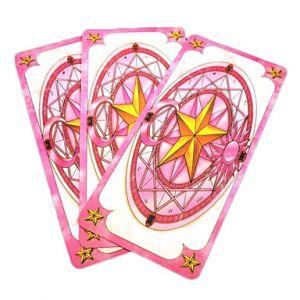 Карты из аниме «Cardcaptor Sakura» (52 карты)