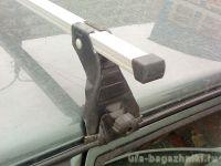 Багажник на крышу на ВАЗ-2114 (Атлант, Россия), алюминиевые дуги