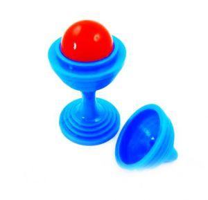Головоломка с шариком (синяя)