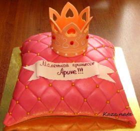 г.Заполярный Мурманской обл. Наталья. торт корона для принцессы