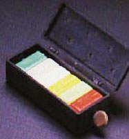 Коробка с цветными брусками