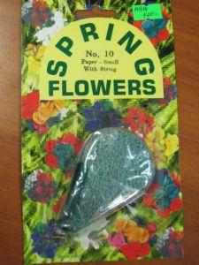 Цветы пружинки (бумажные#25)
