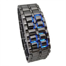 Светодиодные часы-браслет