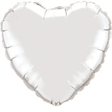 "Фигура ""Сердце"" серебро, 18"", Испания"
