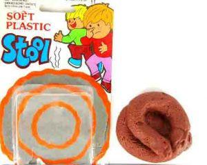 Какашка резиновая круглая