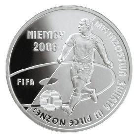 Чемпионат Мира по футболу Германия 2006 10 злотых Польша 2006