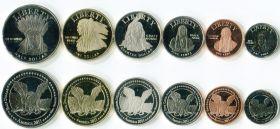 Набор монет  индейская резервация Месса Гранде США 2011