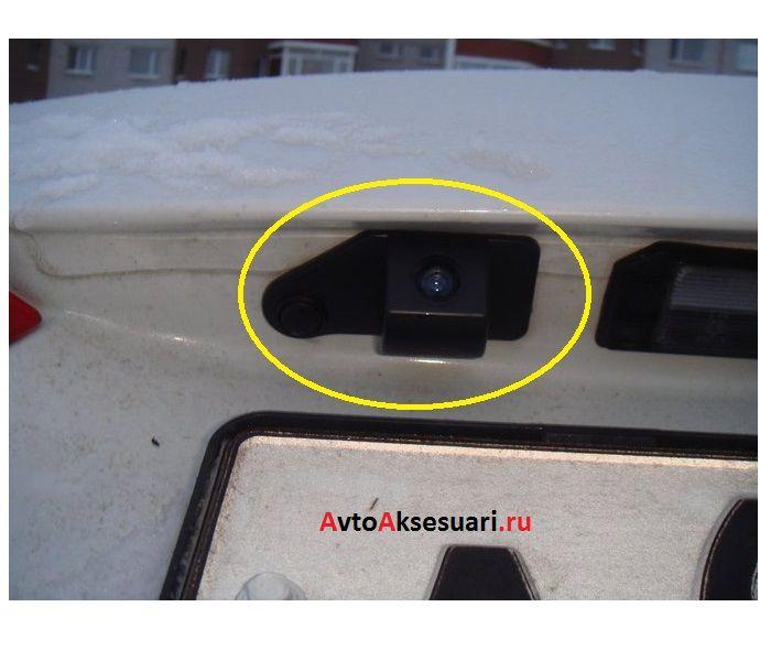Штатная камера заднего вида для Mitsubishi RVR 2010-2017