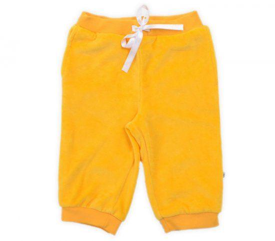 Бриджи для девочки желтые