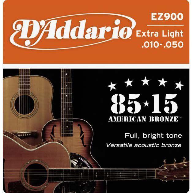 D`ADDARIO EZ900 (010-050) Струны для акустической гитары