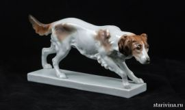Охотничья собака, Karl Ens, Германия, 1920-е