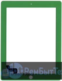 Сенсорное стекло (touchscreen) для Ipad 2 зеленое