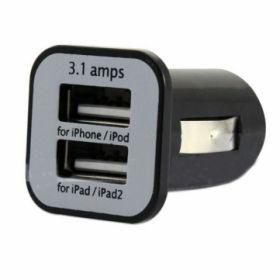 Зарядка авто 2 USB 1А