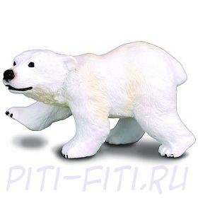 GULLIVER Collecta. Мишки. Медвежонок полярного медведя, стоящий