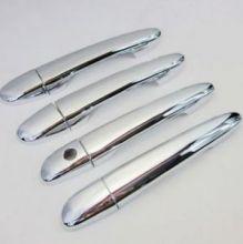 Накладки на ручки 4х дверей, хром
