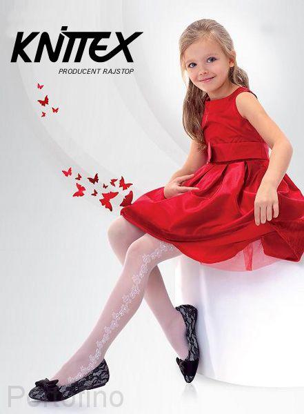 Jasmina Knittex колготки полиамидные с узором 20 DEN