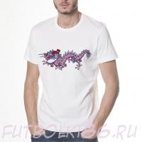 Футболка Дракон арт.025
