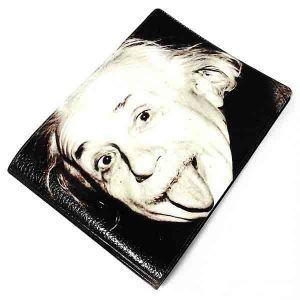 "Обложка на зачётку ""Энштейн"""