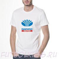 Футболка логотип ДЭУ