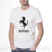 Футболка логотип Феррари