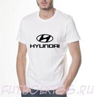 Футболка логотип Хендай