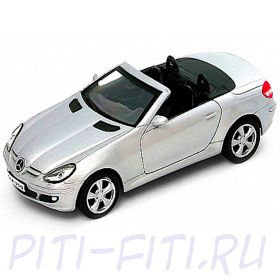 "WELLY. Масштаб 1:34-39. Родстер ""Mercedes-Benz SLK350 (CONVERTIBLE)"""