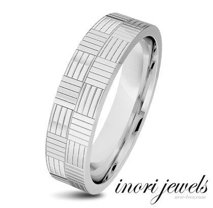 Стальное кольцо Inori Domino