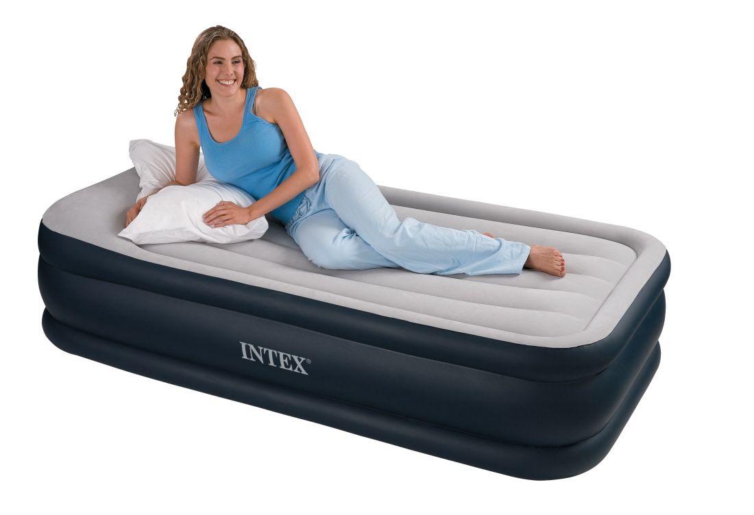Кровать с подголовником Intex 67732 односпальная