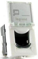 Розетка RJ45 Legrand Mosaic (арт.76551)