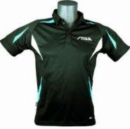 Теннисная рубашка Stiga Style (черный)