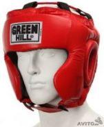 Шлем боксерский Green Hill Club