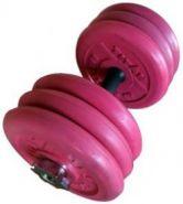 Гантели обрезиненные цветные BARBELL TITAN 32,5кг