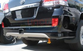 Аэродинамическая накладка на задний бампер губа (Тип 1) для Toyota Land Cruiser 200