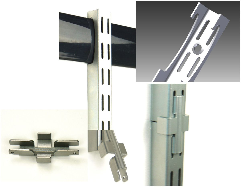 Набор для удлинения вертикальных монтажных полос - SHV3