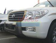 Защита переднего бампера Тип - 3 для Toyota Land Cruiser 200 2008