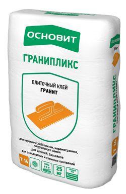 Основит Т-14 ГРАНИПЛИКС плиточный клей (25 кг)